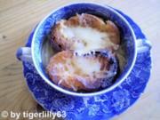 Französische Zwiebelsuppe - Rezept