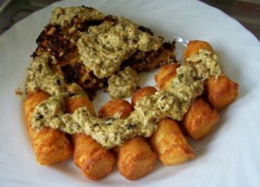 Kochen: Putenschnitzel mit Erdnusskruste - Rezept