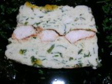 Bärlauch-Hähnchenterrine mit  Orangengelee (als Vorspeise/Hauptspeise - ganz nach Gusto) - Rezept