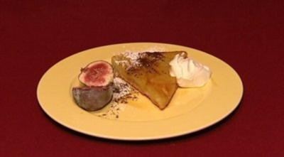 Apfelkuchen mit Karamell (Balou Martin) - Rezept