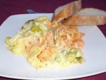 Spargel-Karotten-Zucchini-Lasagne - Rezept