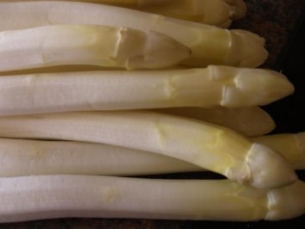 Gemüse:   SPARGEL hat SAISON - Rezept