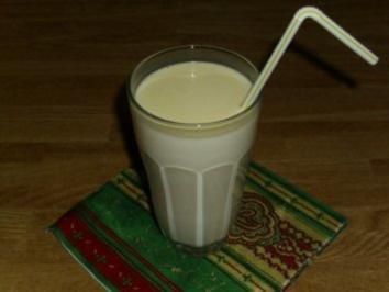 Beschwipste Milch - Rezept