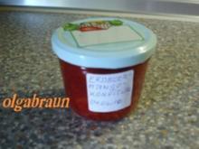 Erdbeer-Mango-Konfitüre mit Zitronenlikör - Rezept