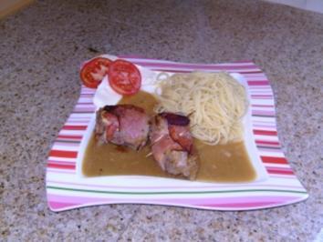 Schweinefilet gefüllt mit Tomate und Mozzarella - Rezept