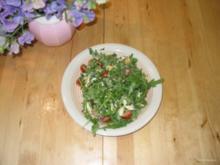 Sommerlicher Schnittlauch Raukesalat - Rezept