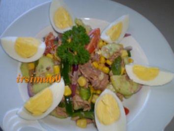 Rezept: Irmi's bunter Sommersalat