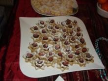 Weihnachtsplätzchen: Cappucino-Spekulatius-Sterne - Rezept