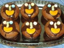 Kleingebäck - Schoko-Minz-Muffins - Rezept