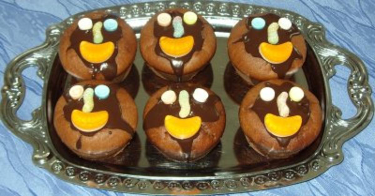 Kleingebäck - Schoko-Minz-Muffins - Rezept Durch anfaengerintotal