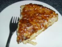 Flammkuchen mit Speck,schnell noch mal  aus meiner alten Rest- Küche - Rezept