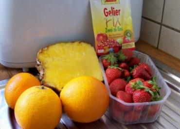 "Rezept: Einmachen: Marmelade ""Sonnenuntergang"""