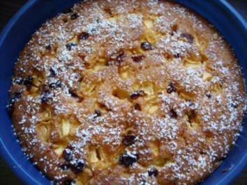 Rezept: Fruchtiger Blitzkuchen