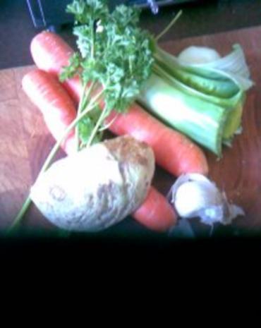 Gemüsesalat mit Hähnchenstreifen - Rezept - Bild Nr. 4