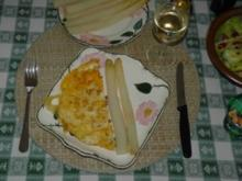 Hauptgerichte - Eieromlett mit Spargel - Rezept