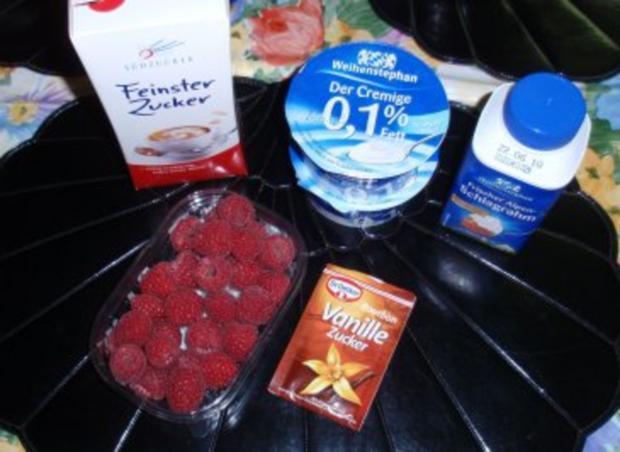 Cremiges Himbeer-Joghurt-Eis - Rezept - Bild Nr. 2
