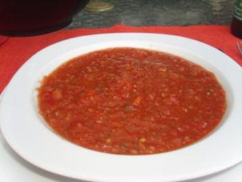 Suppen: Gazpacho - Rezept