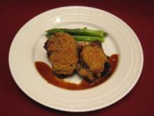 Kalbsbäckchen mit Balsamico-Schalotten und Laugenknödel - Rezept