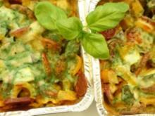 American Spare Rib meets spanische Chorizo im Gemüsebett - Rezept