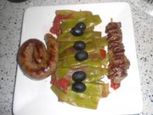 Breite Bohnen lauwarm in feinem Olivenöl - Rezept