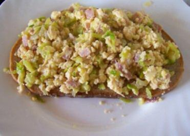 Rezept: Kochen: Zucchini-Rührei