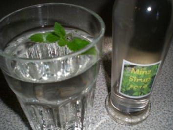 Minze-Sirup - Rezept