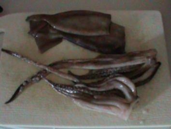 Pikanter Tintenfisch-Eintopf - Rezept