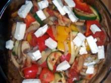 Ratatouille mit Schafskäse - Rezept