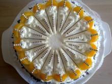 Mandarinen Orangen Torte - Rezept
