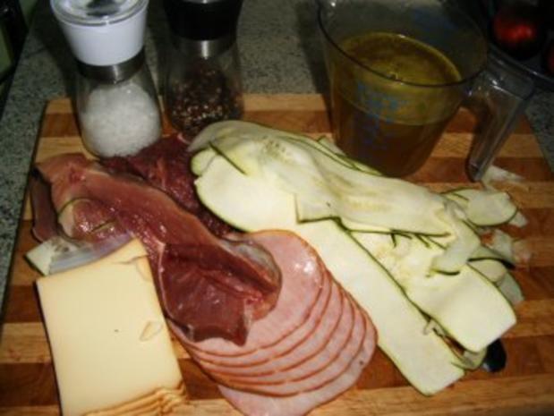 Zuccini-Fleisch- Röllchen - Rezept - Bild Nr. 2