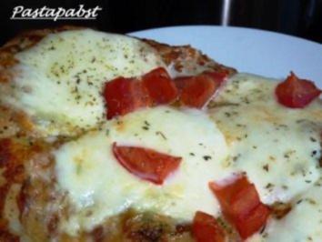 Mozzarella  Focaccia - Rezept