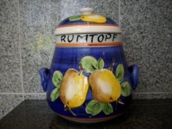 Rumtopf - Rezept