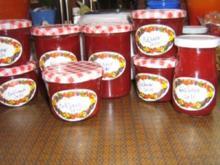 Erdbeermarmelade 2010 - Rezept