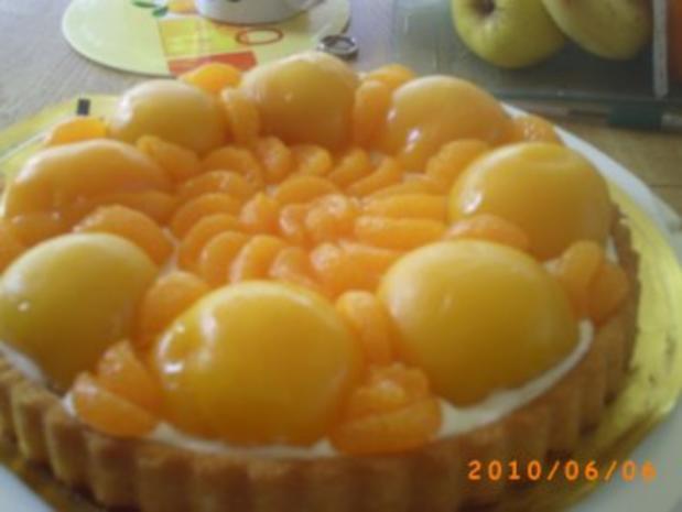 Kuchen: Schneller Pfirsichkuchen mit Kokos-Sahne - Fotos sind on - Rezept - Bild Nr. 5