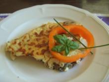 Nudel-Omelett - Rezept