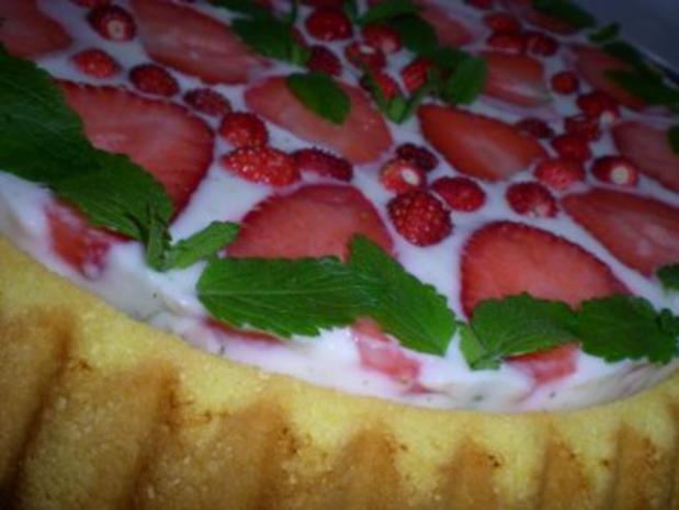 Erdbeer Holunder Torte - Rezept - Bild Nr. 6