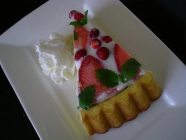 Erdbeer Holunder Torte - Rezept - Bild Nr. 7