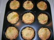 Kartoffelmuffins mediterran - als Beilage z.B. zum Osso buco oder einfach PUR genossen - Rezept