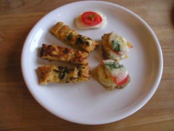 Tomate-Mozarella-Schnitzel - Rezept