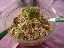 Wurstsalat mit Äpfeln - Rezept