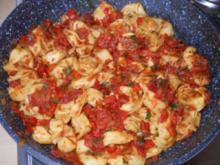 Tortellioni-Pfanne - Rezept