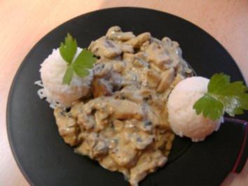 Gynie,s Curry Puten Geschnetzeltes - Rezept