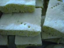 Plätzchen: Shortbread - Rezept