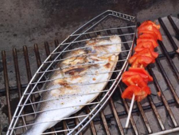 Piri-Piri Dorade nach portugiesischer Art (Fischgericht) gegrillt - Rezept