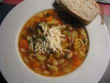 Minestrone Vegetarisch - Rezept