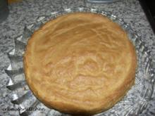 Biskuitboden für Obstkuchen - Rezept