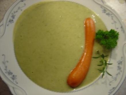 Kartoffel-Kräutercreme-Suppe - Rezept
