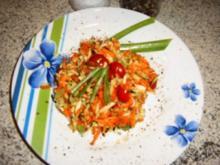 Zuccini-Möhren- Salat - Rezept