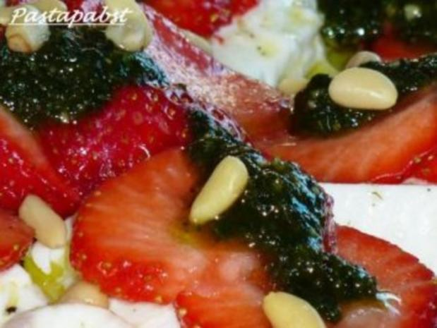 Erdbeercarpaccio mit Minzpesto - Rezept - Bild Nr. 3