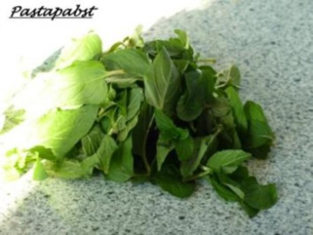 Erdbeercarpaccio mit Minzpesto - Rezept - Bild Nr. 4
